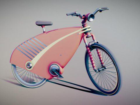 118A 3D bike model