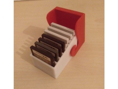 3DS Box for 8 Cartridges