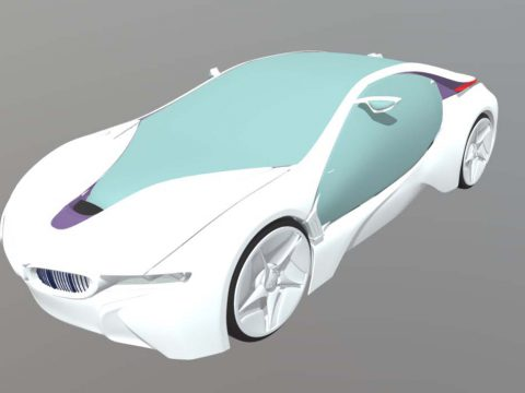 BMW I8 E- Dynamic Concept 3D model