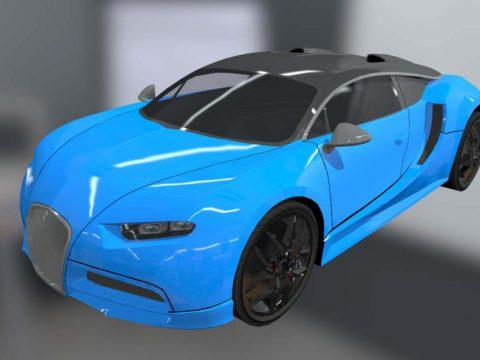 Bugatti Chiron R-Type