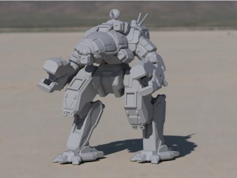 CRB-20 Crab for Battletech