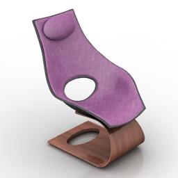 Chair Carl Hensen Dream 3d model