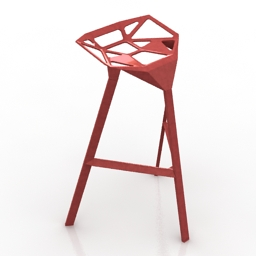 Chair HMI Stool One 3d model