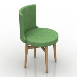 Chair T ELEN 3d model