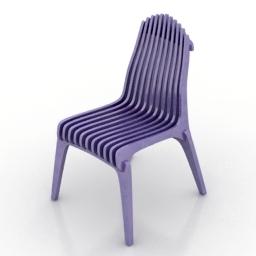 Chair VOCA Fire 3d model