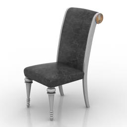 Chair edita modern 3d model free