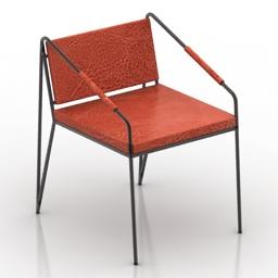 Chair metal 3d model