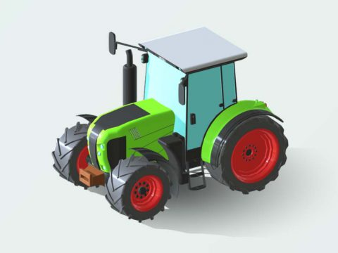 Claas 630 Arion 3D model