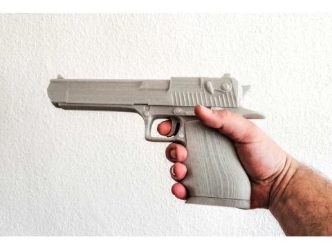 Desert Eagle 3D gun