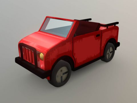HCR Jeep 3D model