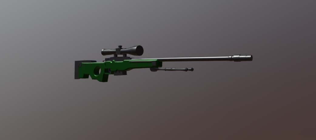 Harry AWP FBX | Free 3D models