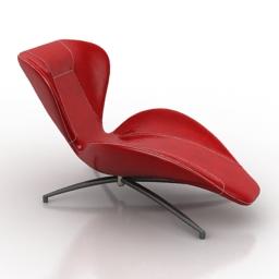 Lounge flower 3d model