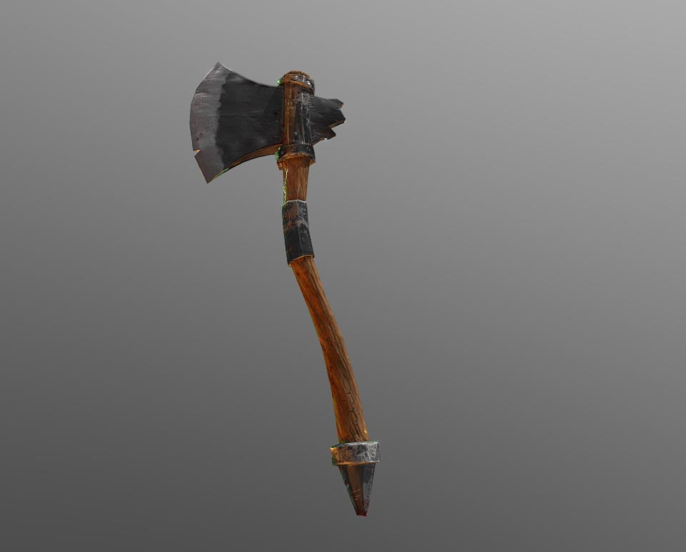 Low Poly - Axe