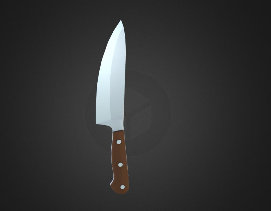 Lowpoly Knife