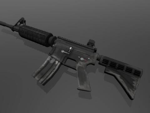 M4A4 3D model