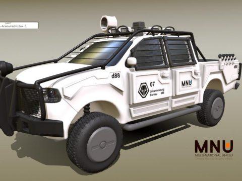 MNU Armored Toyota Hilux