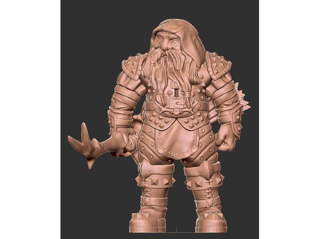 Male Dwarven Archer