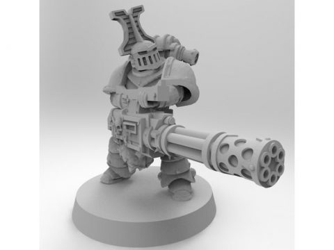 Mk2 Rubric Marine with Soulreaper Cannon