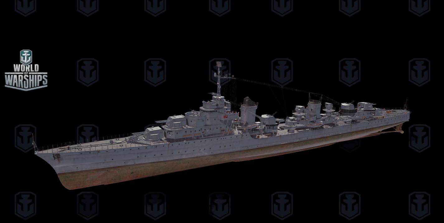 Mogador 3D ship model