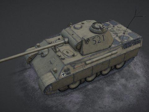 Panzer V Panther Desert camo