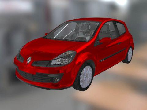 Renault Clio 3D model