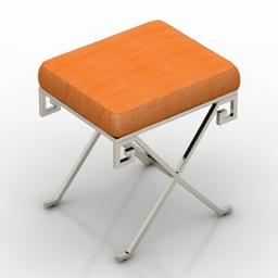 Seat EICHHOLTZ Stool Paiva 3d model
