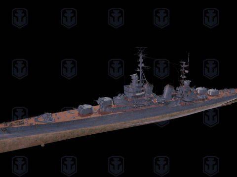 Smolensk 3D ship model