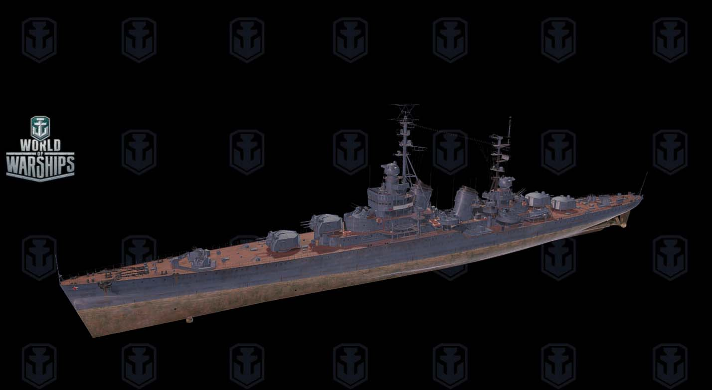 Smolensk 3D ship model