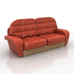 Sofa Accent 3d model