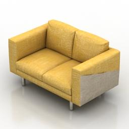 Sofa IKEA NORSBORG 3d model