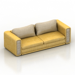 Sofa mexo klaus lux 3d model