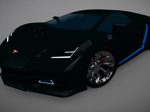 Supercar like Lamborghini