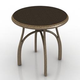 Table Froli Rotang 3d model