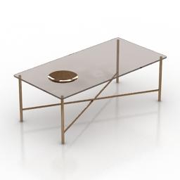 Table Gallotti&Radice Golden moon 3d model