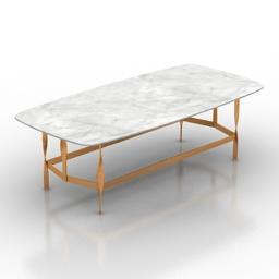 Table Rugiano Pliet 3d model