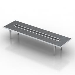 Table Studio Communal 3d model