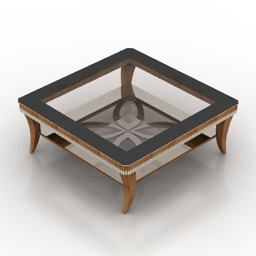 Table garda decor ART B1980 3d model