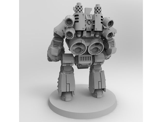 Thousand Sons Demon Prince Contemptor Dreadnought with Wings