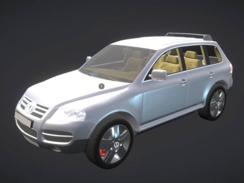 Touareg 3D car model