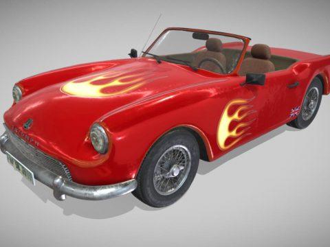Triumph 3D car model