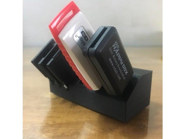 USB e SD Dock