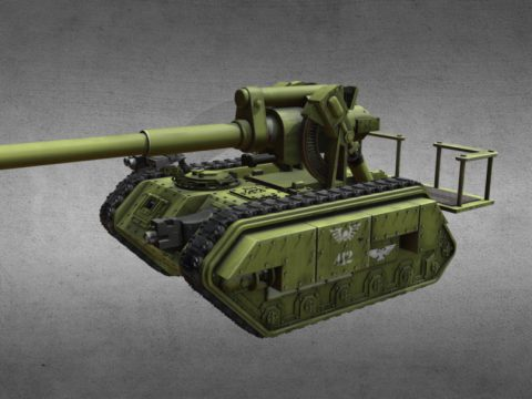 Warhammer Tank Basilisk 412