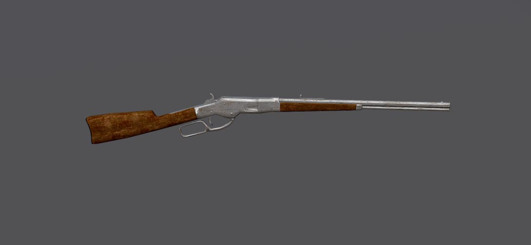 Winchester 1887 | Free 3D models