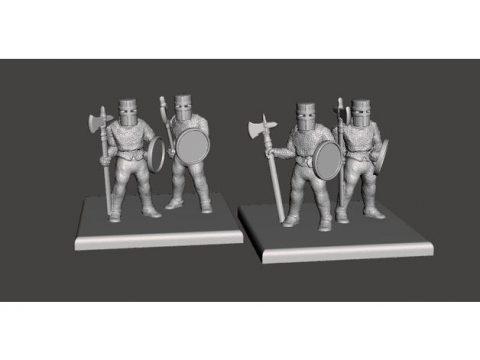 15mm HotT Knights of Serbia - Rebase