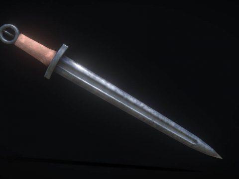 Anglo-Saxon Short Sword