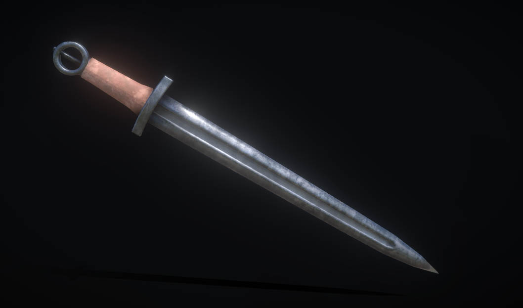 Anglo-Saxon Short Sword