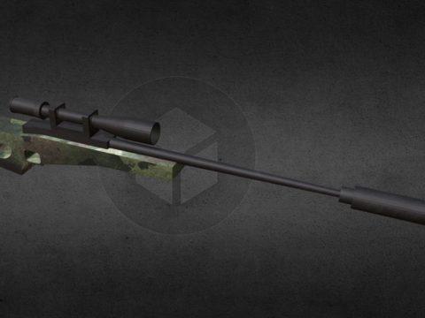 Arctic Warfare Magnum Gun