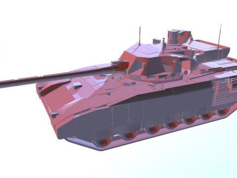 Armata T14 3D model