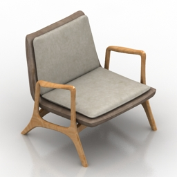 Armchair Kagan 3d model