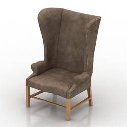 Armchair Model 101 Loft Design 3d model
